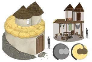 peasant hut sheet